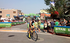 Just before the big race. Historic Main Street! 2012