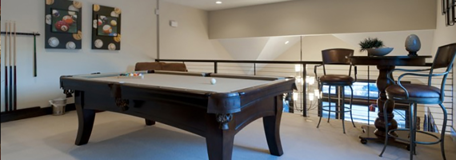 Pool Table in Condo in Park City Utah
